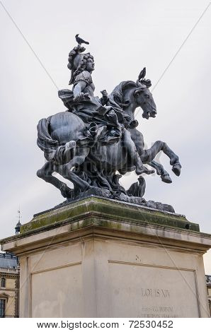 Louis Xiv Equestrian Statue