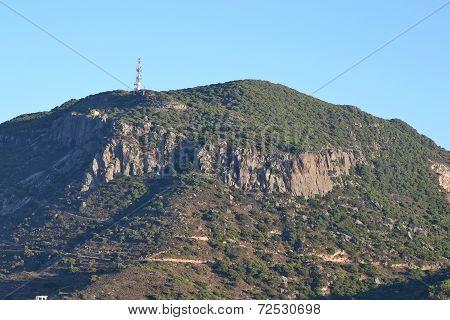 Hil on a Greek island of Kos