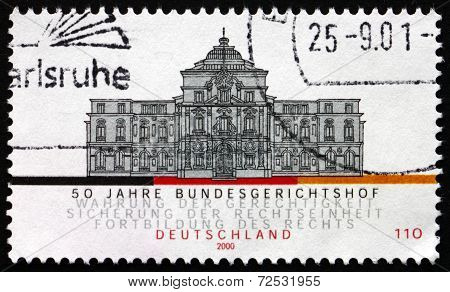 Postage Stamp Germany 2000 Federal Court Of Justice