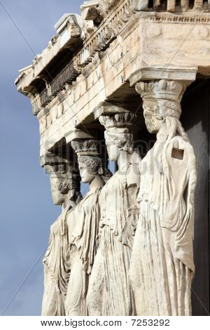 Erechtheum, Ancient Greek Temple