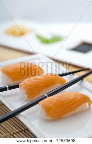 Sake Nigiri Sushi