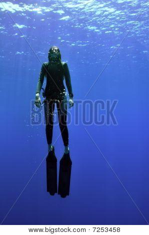 Girl And Sea