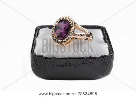 Retro Crystal Ring