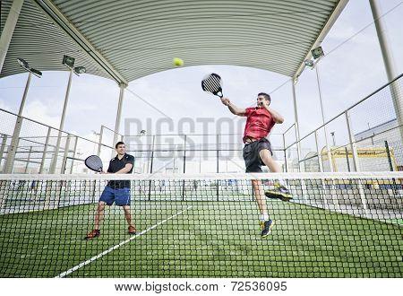 Paddle Tennis Shot