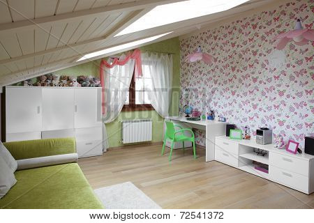 Colourful Interior Of Children Room