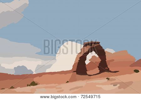 Stone Arch Illustration