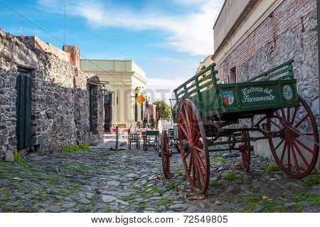 Historic Neighborhood In Colonia del Sacramento Uruguay
