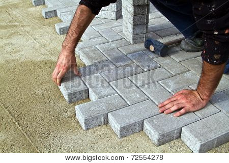 Construction of pavement