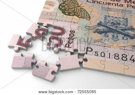 Mexican Pesos Puzzle