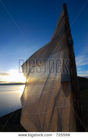 Sunrise Over Namtso Lake