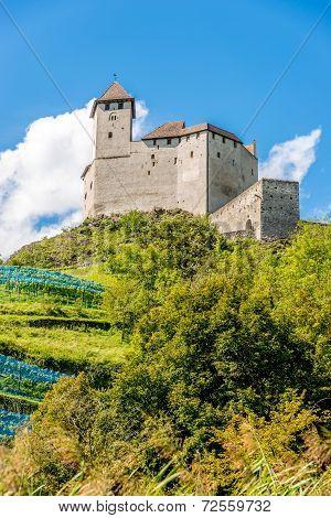 Gutenberg Castle In Balzers