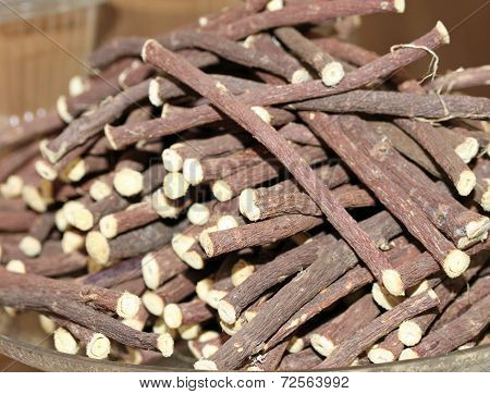 Licorice Sticks For Sale At The Market