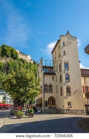 City Hall Building Of Vaduz.