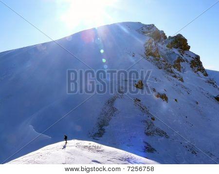 Winter  snow scene