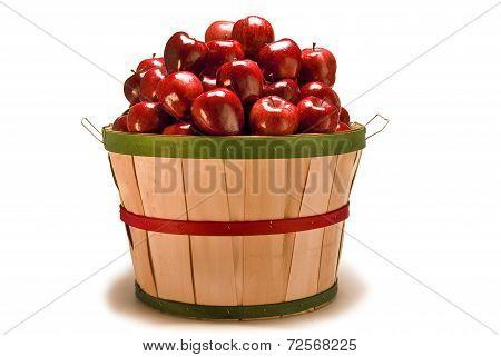 Beautiful Bushel Basket Of Apples