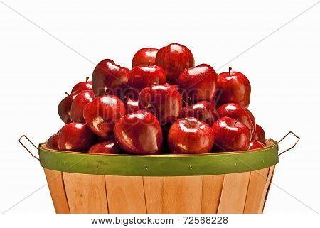 Bushel Of Fresh Apples
