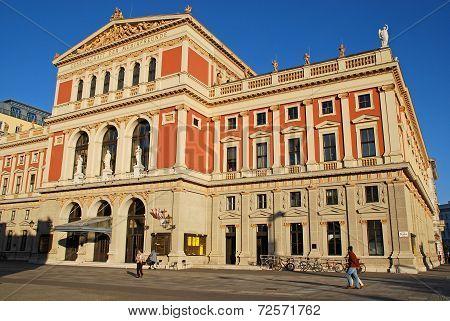 Musikverein-concert Hall In Vienna, Austria