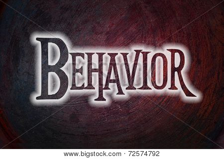 Behavior Concept