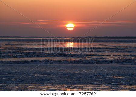 Sundown On Amur
