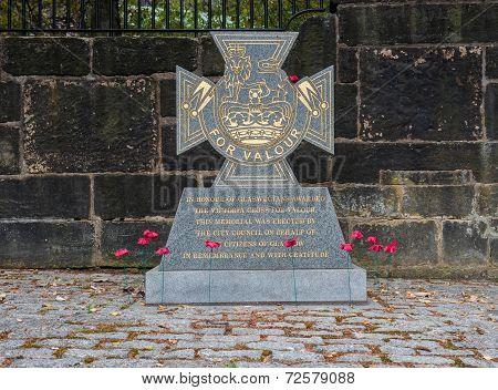 Glasgow War Memorial Victoria Cross
