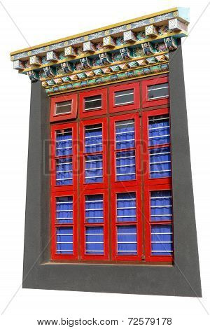 Buddhist Windows