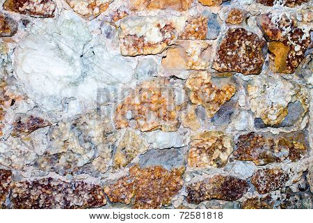 Wall Of Mineral
