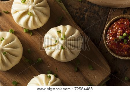 Steamed Bbq Pork Asian Buns