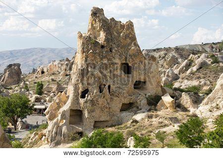 Open Air Museum in Goreme . Cappadocia Turkey