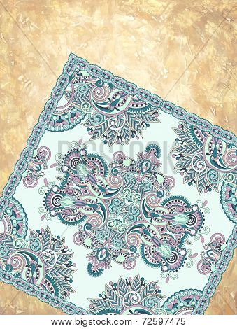 grunge background with carpet detail