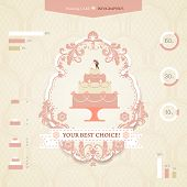 Постер, плакат: Wedding infographics