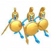 picture of hoplite  - Spartans - JPG
