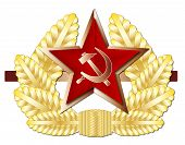 Постер, плакат: Soviet Cap Badge