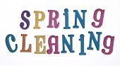 stock photo of spring-cleaning  - It is time to clean up for spring - JPG