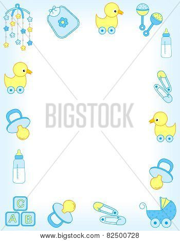 Baby Accessories Frame For Boy