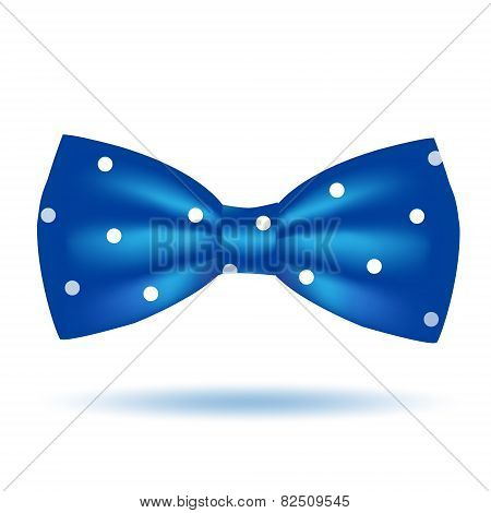Vector bow tie icon isolated on white background