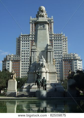Plaza of Spain in Madrid