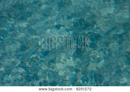 Painterly Blue Background