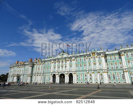 Hermitage Museum in St. Petersburg