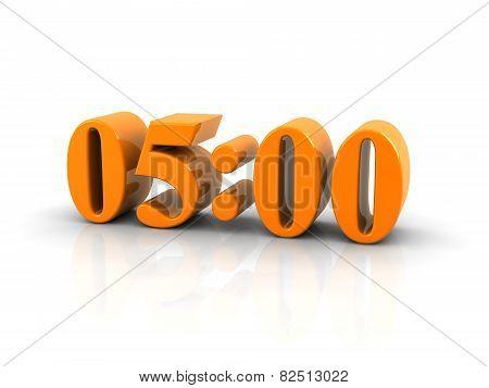 Time 5 O'clock
