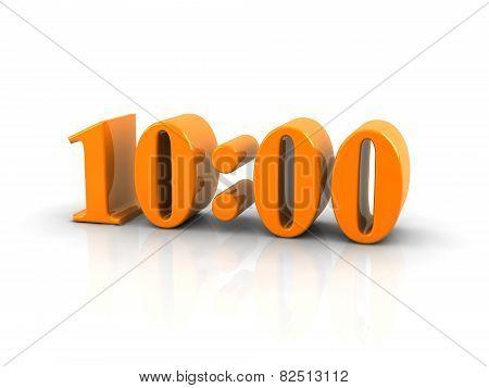 Time 10 O'clock