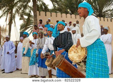Omani Tribal Musicians