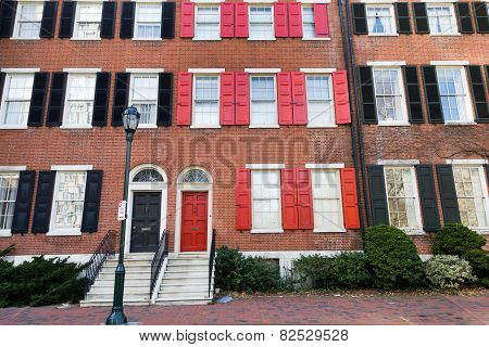 Philadelphia townhouses