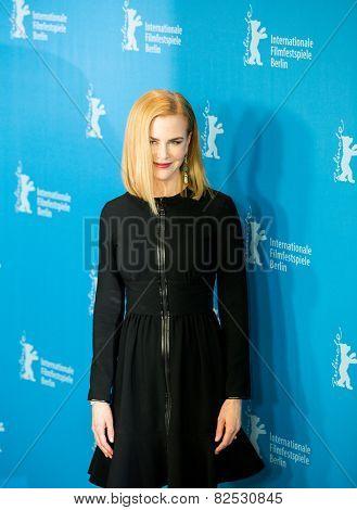 BERLIN, GERMANY - FEBRUARY 06: Nicole Kidman, photocall 'Queen of the Desert'. 65th Film Festival at Hyatt Hotel on February 6, 2015 in Berlin, Germany.