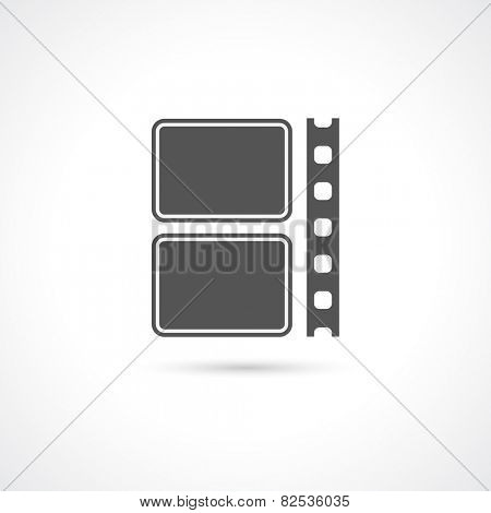 film strip icon - logotype design element