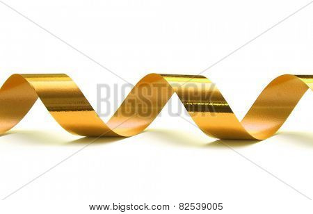 gift ribbon isolated on white