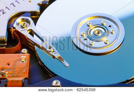 Open HDD disk
