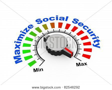 3D Knob - Maximize Social Security