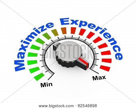 3D Knob - Maximize Experience