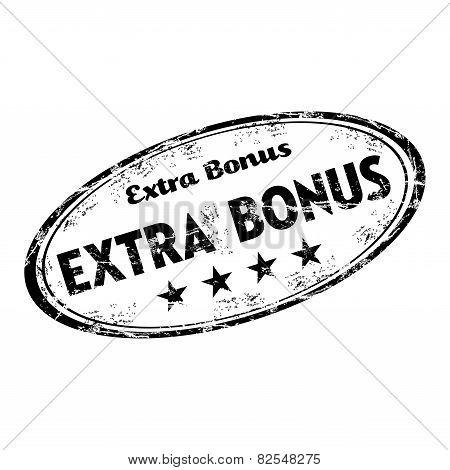 Extra bonus grunge rubber stamp