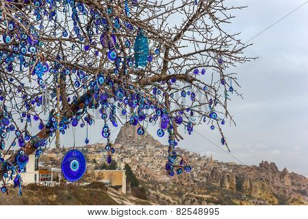 Evil Eye Tree Nevsehir